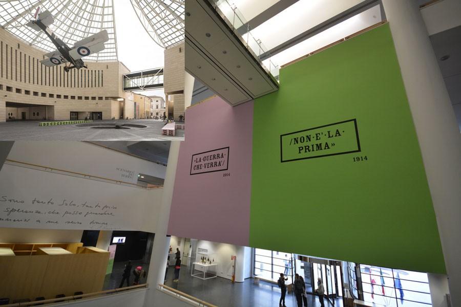 Mart di Rovereto, visita della mostra LA GUERRA CHE VERRA' NON E' LA PRIMA...