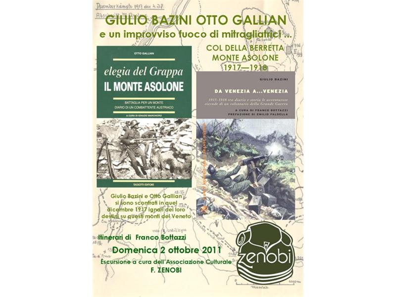 viaggio della memoria sul Col della Berretta – Monte Asolone