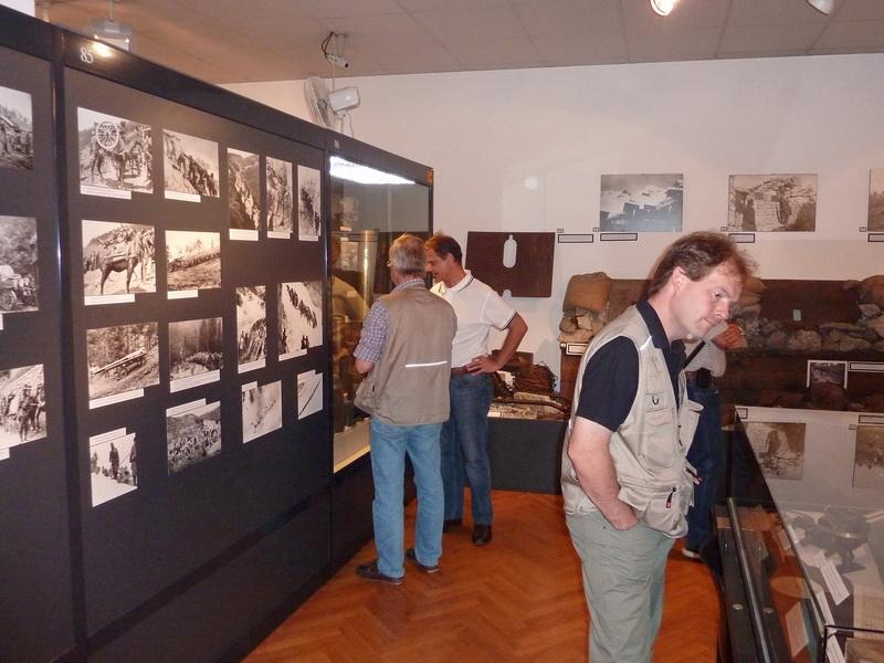 vista al museo dell'Associazione Dolomitenfreunde...