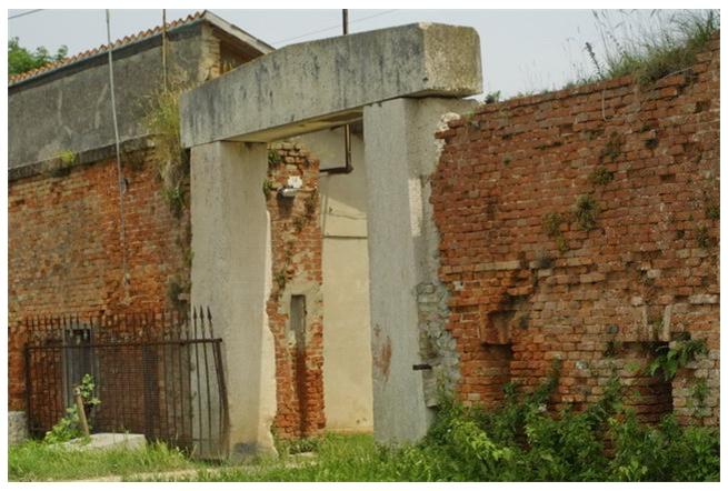 e il Forte Tre Porti...